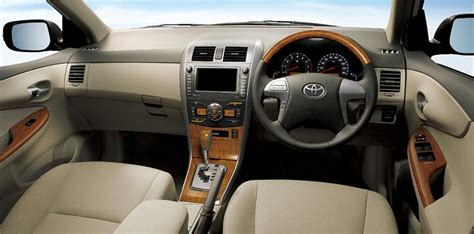 2012 Corolla Interior by New Toyota Corolla Axio 2012 Pictures Original Preview