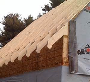 Garage Add Ons Designs garage under construction 187 garage rafter tails