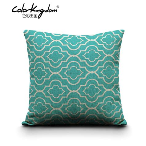 Pillow Custom by Aliexpress Buy Custom Made Geometric Throw Pillows