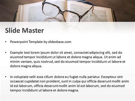 Books Reading Powerpoint Template Slidesbase Reading Powerpoint Template