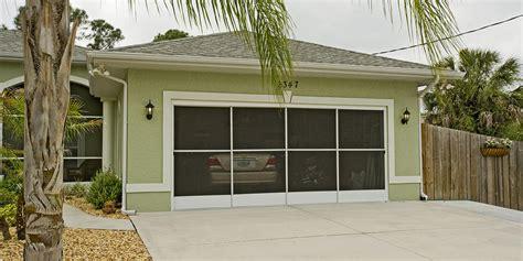 garage door screen enclosures side slider garage door screen ss30 eze side slider