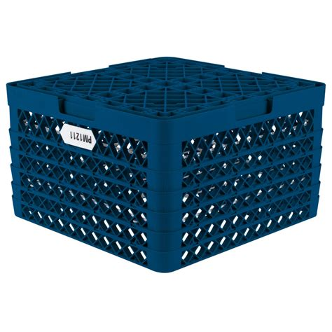 Racks Blue Plate by Vollrath Pm1211 5 Traex Plate Crate Royal Blue 12