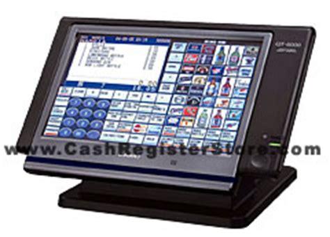 Mesin Kasir Electronic Register Casio Qt 6100 casio qt 6000 touchscreen electronic registers at register store