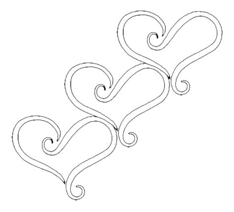 triple heart tattoo designs tattoos
