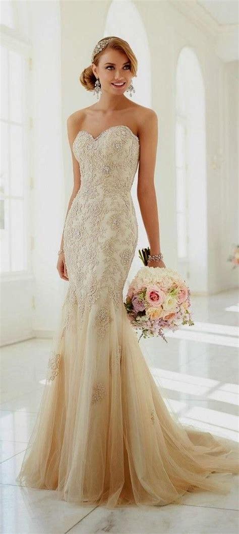 Brautkleider Beige by Beige Lace Wedding Dress Naf Dresses