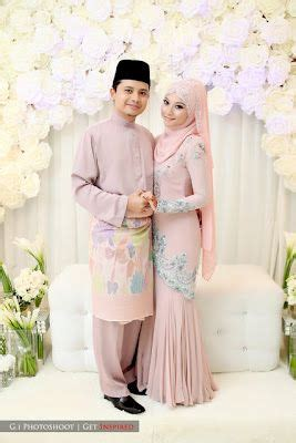 Baju Nikah Pastel 17 best images about baju kurung on lace scallops and peplum