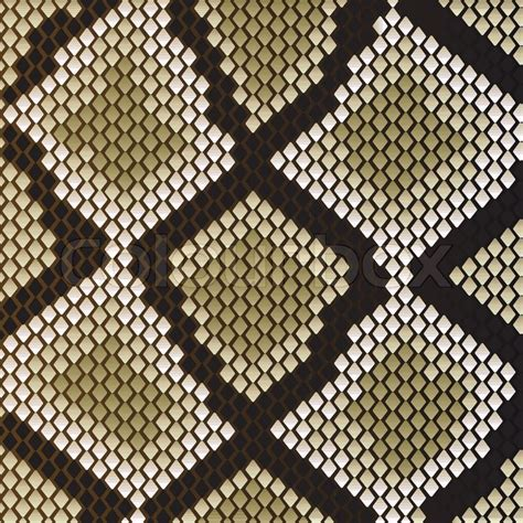 vector set of snake skin pattern elements 01 over snake skin pattern for design as a background stock