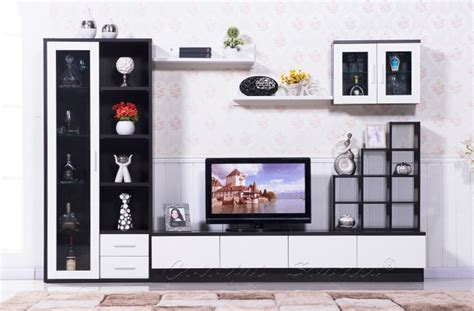 modern tv hall cabinet living room furniture design for