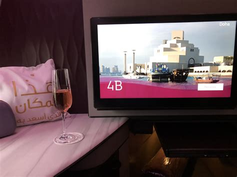 review  der qatar airways business class von frankfurt