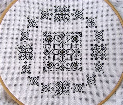 blackwork pattern blackwork pattern cross stitch and blackwork pinterest
