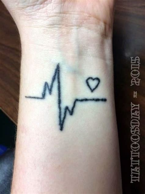 heartbeat stop tattoo tattoosday a tattoo blog laura and her heart that doesn