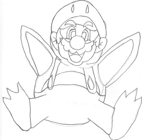 penguin mario coloring page penguin mario outline by kcjedi89 on deviantart