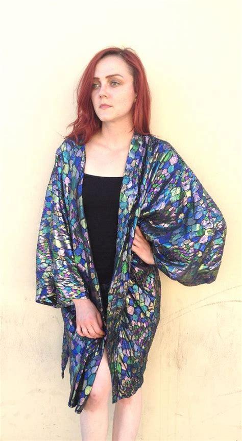 pattern for kimono style jacket metallic duster kimono jacket stained glass pattern