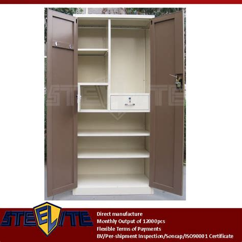 bedroom cupboard door designs 2 door steel bedroom cupboard design furniture brown two doors beige metal almirah