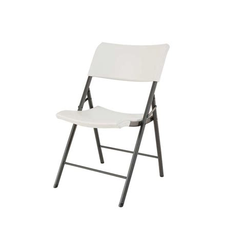 cosco resin folding chair with molded seat and back in