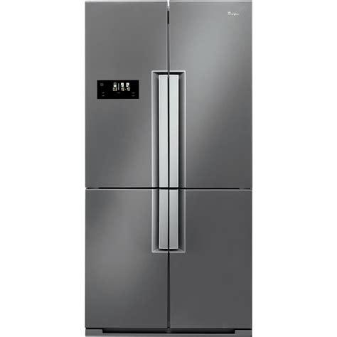 frigorifero doppia porta americano frigorifero americano whirlpool colore inox wmd 4001 x