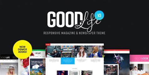themeforest free download newsmag v3 2 news magazine goodlife v3 0 2 responsive magazine newspaper theme