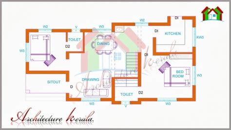 small kerala style house plans inspiring two bedroom house plan for small families small plots 2 bedroom house plan