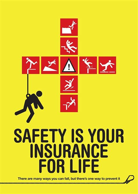 poster design road safety safety is your insurance for life on behance