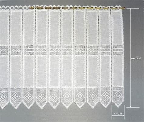 tendaggi tirolesi tendina a vetro macram 233 cm 210 cesano boscone