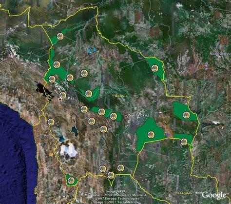 imagenes satelitales bolivia mapa satelital de bolivia
