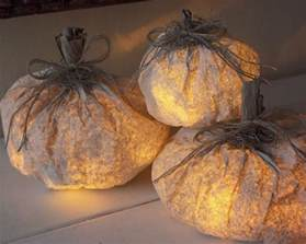 paper bag decorations tutorial paper pumpkin luminary decorations