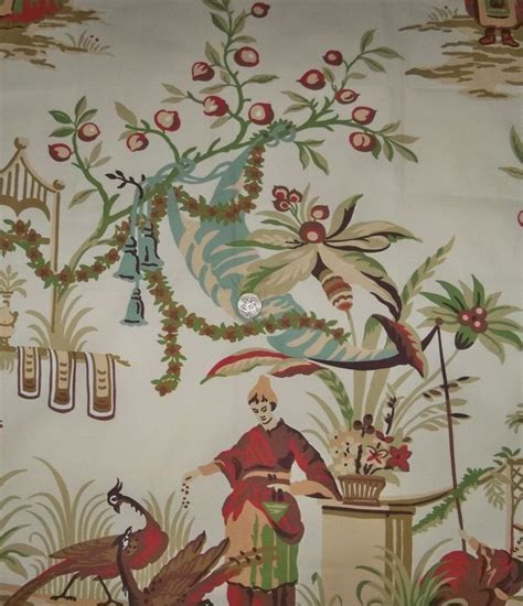 chinoiserie upholstery fabric lee jofa kravet french chinoiserie oriental toile fabric
