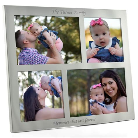 Collage Photo Frame Personalised And Engraved