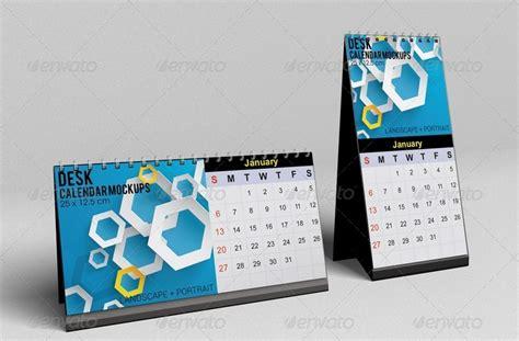 Desk Calender by Desk Calendar Mockups By Kongkow Graphicriver