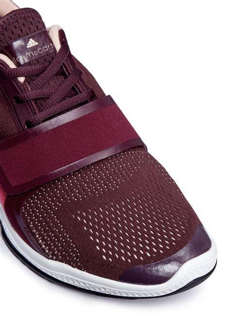 Adidas Bounce Lush Pink Dask Purple adidas by stella mccartney atani bounce sneakers in purple lyst
