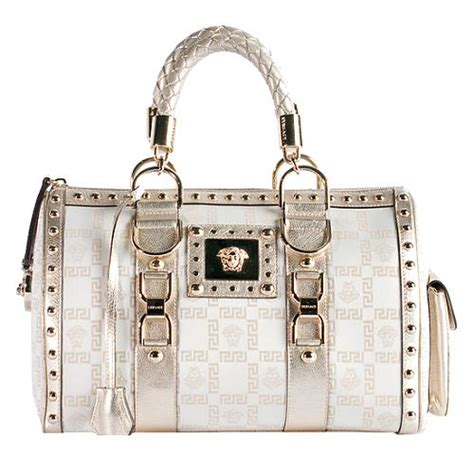 Versace Metallic Jacquard Snap Out Of It Bag versace jacquard snap out of it satchel handbag