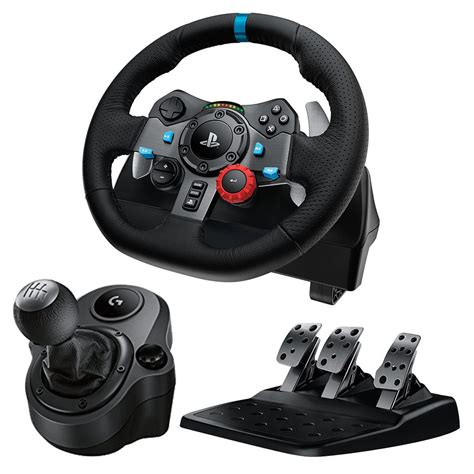 volante logitech driving pro logitech g29 driving racing wheel for ps4 pc