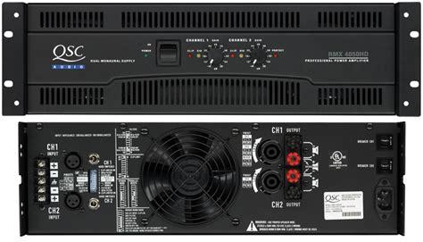 Power Lifier Qsc 500 server error