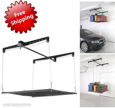 Garage Rack Systems by Garage Storage System Overhead Shelves Organizer Roof Rack Mount Ceiling Hanging Ebay