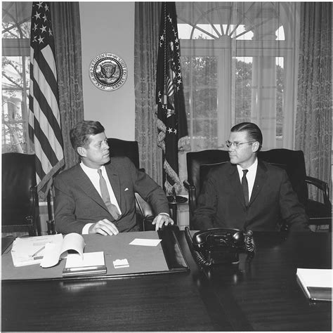 john f kennedy cabinet file president meets with secretary of defense president