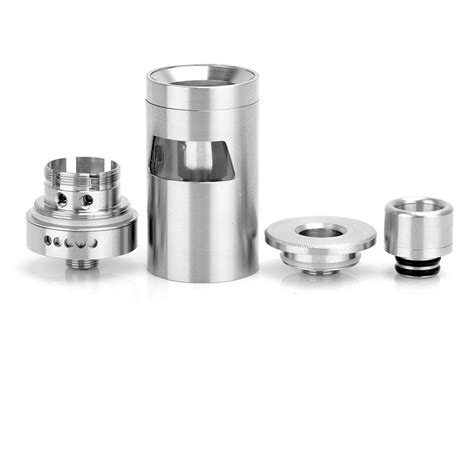 Conqueror Rta Vaping By Wotofo Authentic authentic wotofo conqueror rta 4ml silver rebuildable tank atomizer