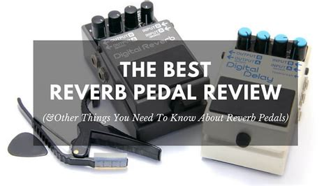 best pedal reverb the best reverb pedal review and other things you need to