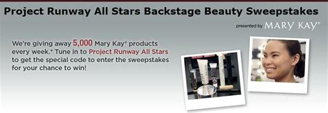 Project Runway Sweepstakes - project runway all stars backstage beauty sweepstakes