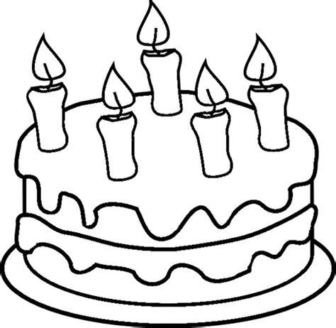 Get This Free Printable Cake Coloring Pages For Kids 5gzkd Cake Coloring Pages To Print