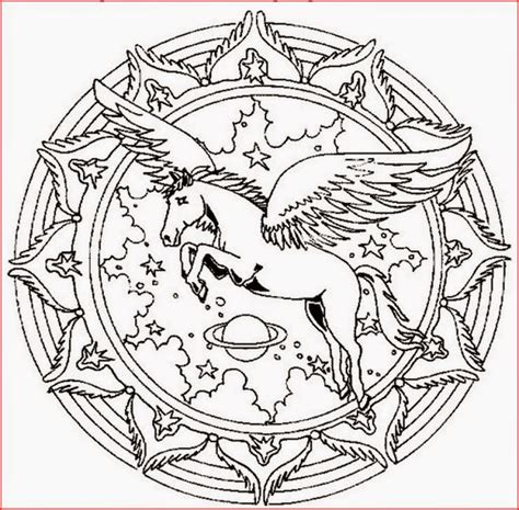 mandala coloring pages horse coloring pages horse mandala coloring pages free and