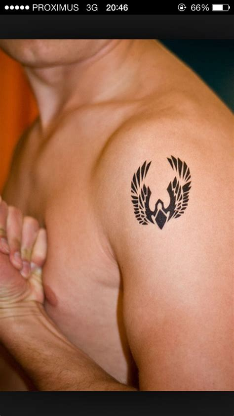 small phoenix tattoo tribal for men archv 13 pinterest