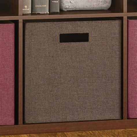 closetmaid decorative storage fabric bins reviews wayfair