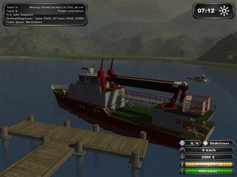 farming simulator boat videos fs 2011 fireboats v 1 0 other vehicles mod f 252 r farming