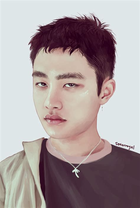one lucky lucky one kyungsoo by seniorroyal on deviantart