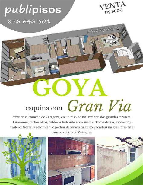 venta piso centro zaragoza piso centro zaragoza en venta avenida goya gran v 237 a