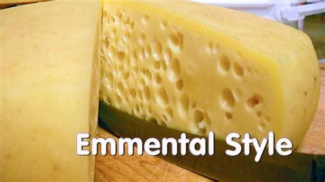 emmentaler style swiss cheese at home