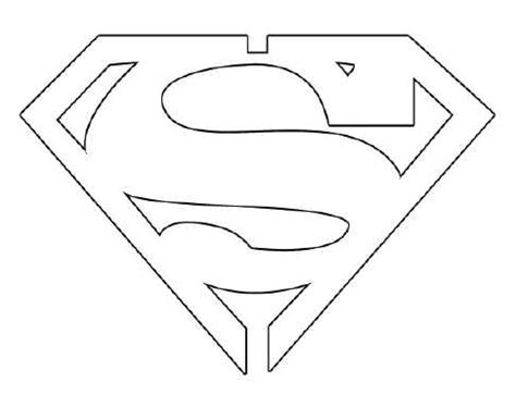 superman template superman emblem template