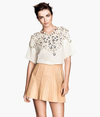 17 best ideas about pleated leather skirt on