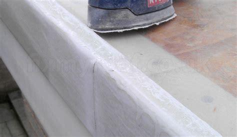 Grp Ceiling by How To Fibreglass A Roof Easy Diy Fibreglass A Flat Roof