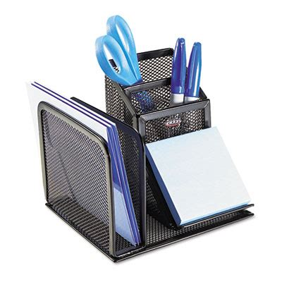 Eldon Office Organizer Desk Mesh Bk Each Model 22171 Eldon Desk Organizer